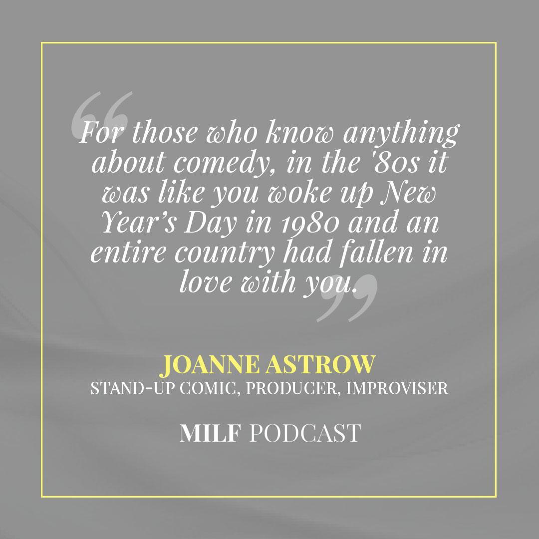Joanne Astrow MILF Podcast